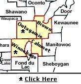 Service Brown County/Calumet County/Outagamie County/Winnebago County in Wisconsin
